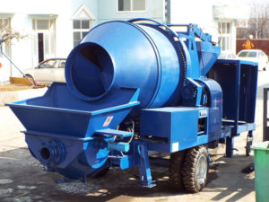 concrete mixer pump