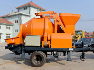 concrete mixer with pumps for sale