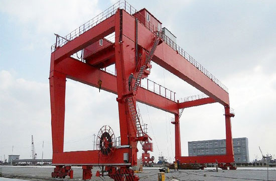 U Frame Gantry Crane 100 Ton