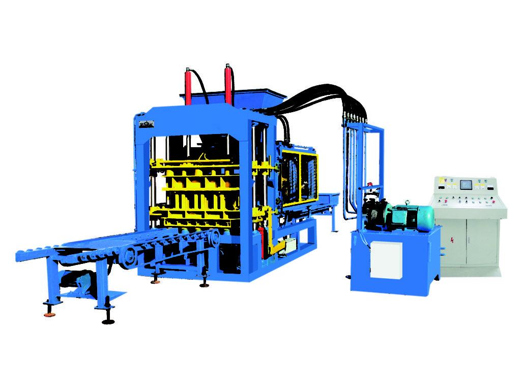 QT6-15B ecological bricks making machine