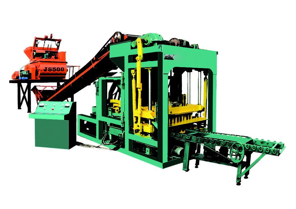 QTJ4-25 ecological brick making machine