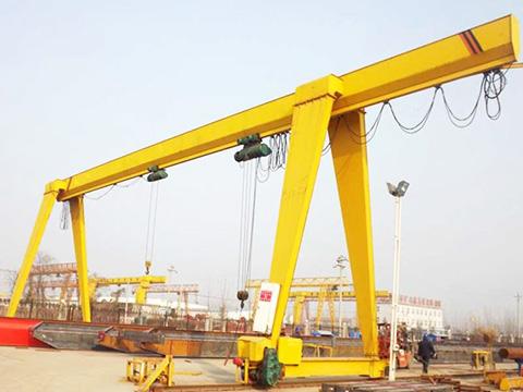 A-type single girder 12 ton gantry crane sales