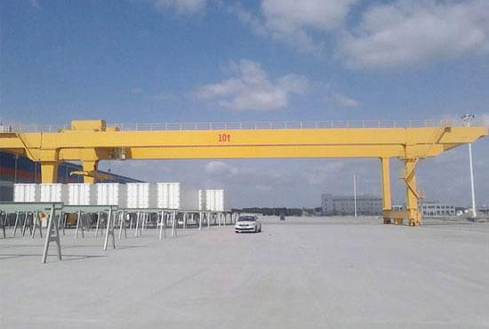 U Type Double Girder Gantry Crane