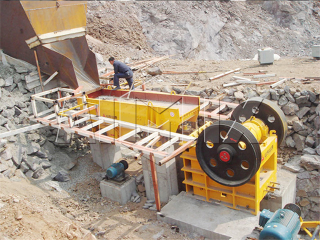 Mobile Crushing Screening Station in  China